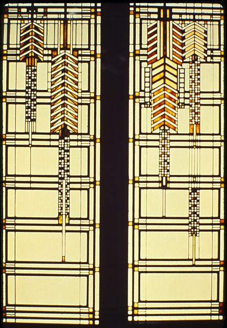 Haeger Potteries Frank Lloyd Wright Nutmeg Sumac Vase | LampsPlus.com