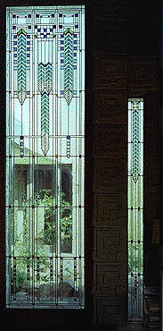 Frank Lloyd Wright S Ennis House Stained Glass Art Glass