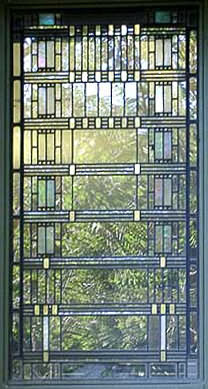Frank Lloyd Wright S Martin House Stained Glass Art Glass